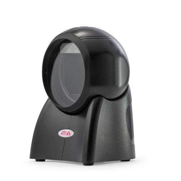 картинка Настольный 2D сканер штрих-кода АТОЛ D1 USB (чёрный) от копании Аксиома