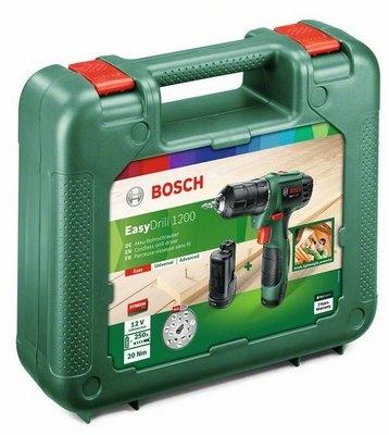 картинка Дрель-шуруповерт аккумуляторная Bosch EasyDrill 1200 (0.603.9A2.10B) от магазина Одежда+