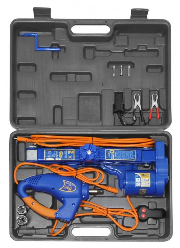 картинка Домкрат электрический 2 тонны KRAFT КТ 850001 от магазина Одежда+
