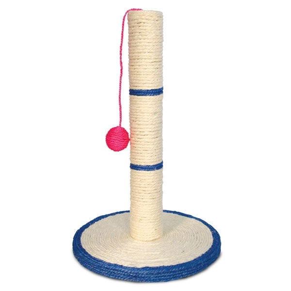 картинка Когтеточка-столбик Triol 819S с шариком от магазина Одежда+