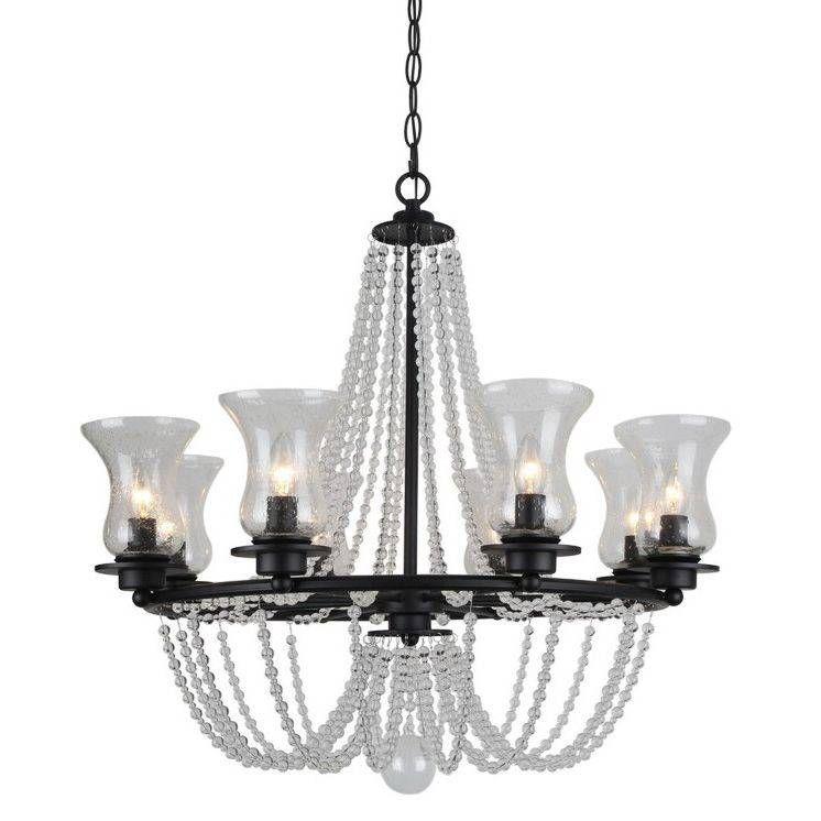 картинка Подвесная люстра Arte Lamp 59 A6586LM-8BK от магазина Одежда+