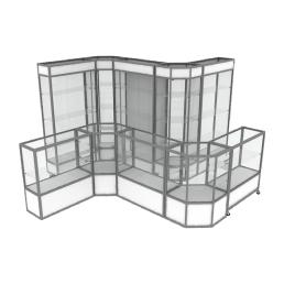 витрины и прилавки