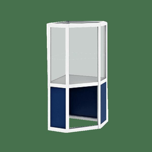 витрины из стекла для торговли