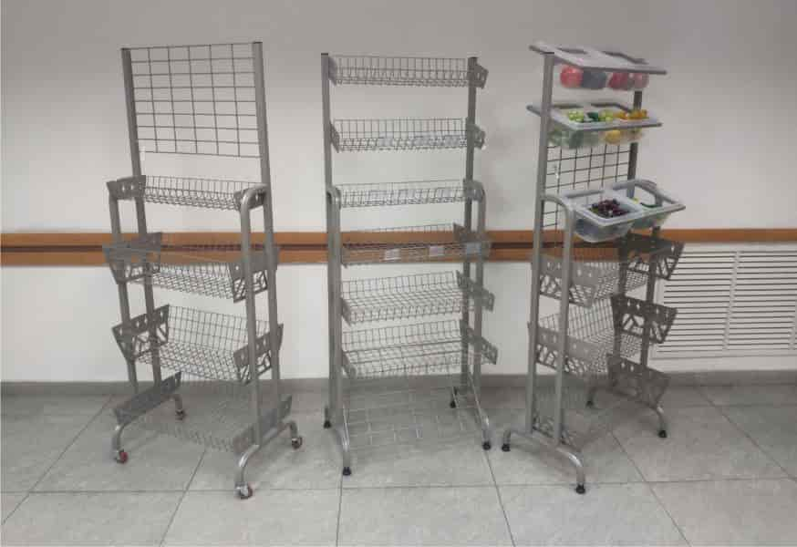 металлические стеллажи купить в Бишкеке
