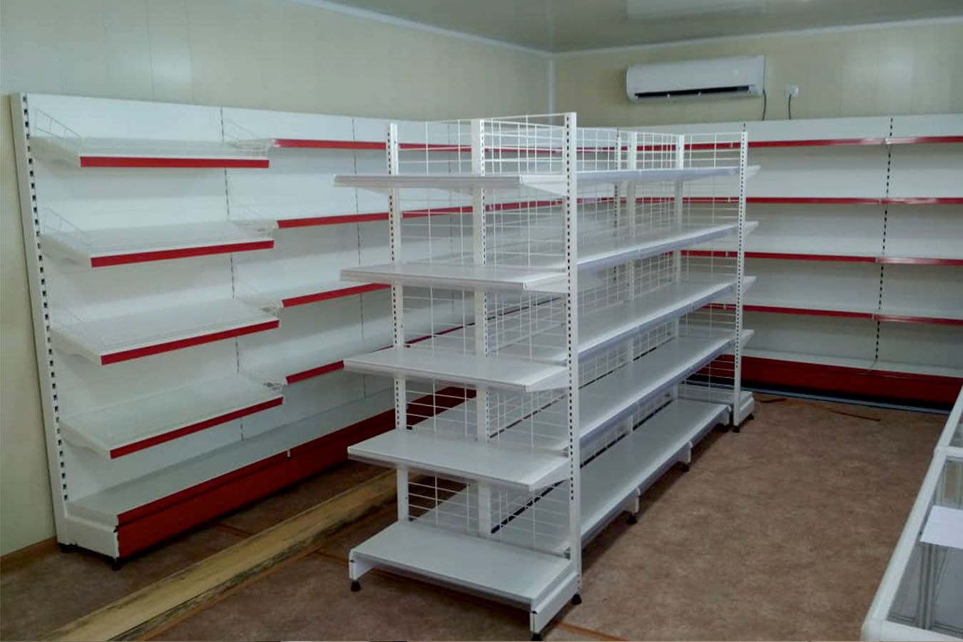 Купить торговые стеллажи в Казахстане