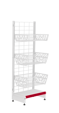 облегченные металлические стеллажи