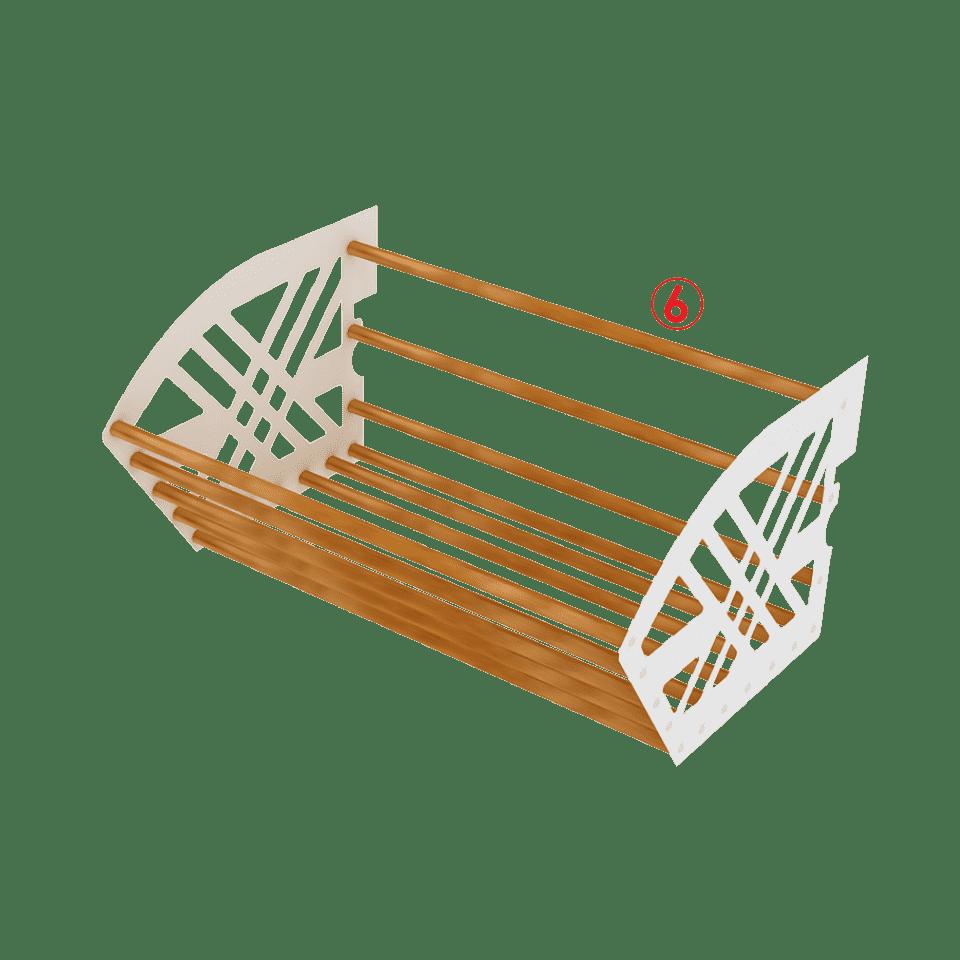 корзины для стеллажей в Бишкеке