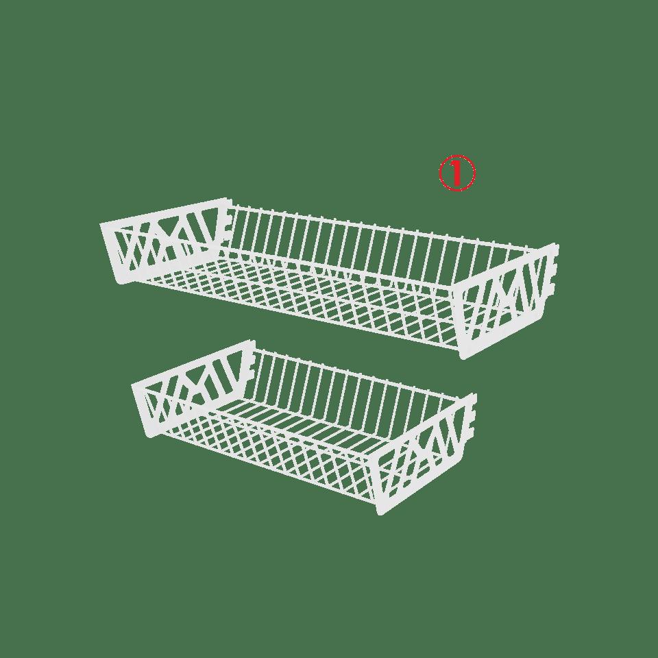 корзины для стеллажа