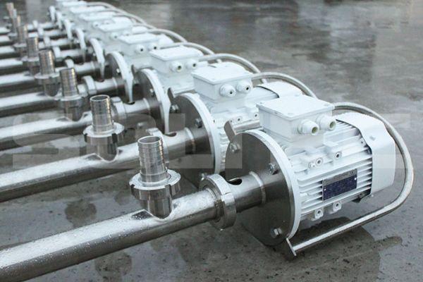 Бочковые насосы BT020S01 со стандартной и удлиненной погружной частью