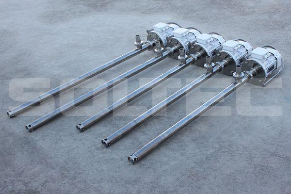 Бочковые насосы SOLTEC ® BT020S01FY и BT020S01FYL со стандартной и удлиненной погружной частью