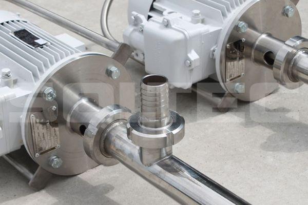 Бочковые насосы со стандартной и удлиненной погружной частью