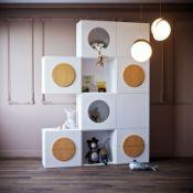 Детские стеллажи каталог с фото- фабрика мебели Mamka