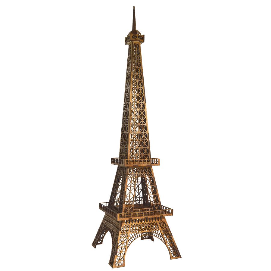 картинка Эйфелева башня, выс. 680 мм, арт. Ф00039 - подарки и декор из дерева - подереву.рф
