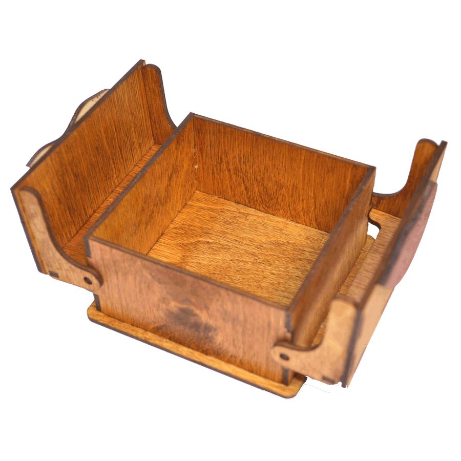 картинка Шкатулка на 14 Февраля, арт. Ф00040 - подарки и декор из дерева - подереву.рф
