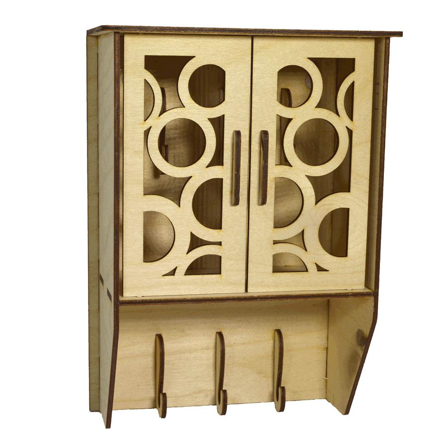 картинка Ключница, арт. Ф00045 - подарки и декор из дерева - подереву.рф
