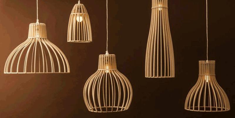 Светильники из дерева - подереву.рф