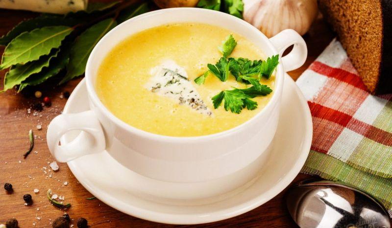 Сырный крем - суп