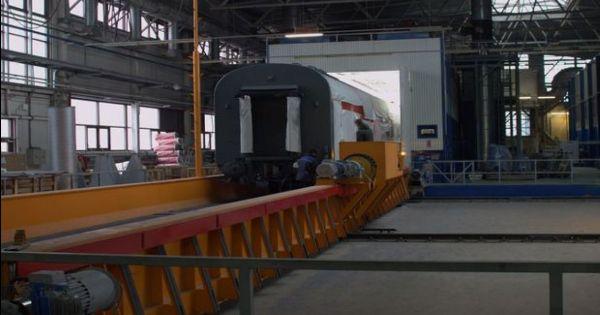 Трансбордер для поездов