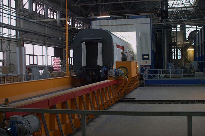 Трансбордер для локомотивов