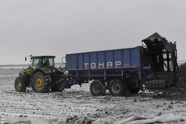 Прицеп тракторный <p>бункер-перегрузчик ТОНАР.</p>