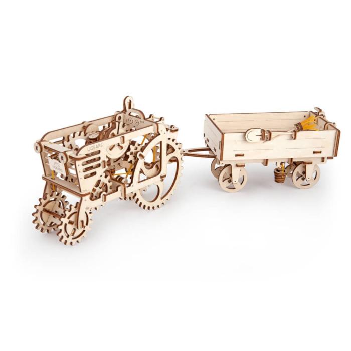 Комплект тракториста из двух моделей Ugears
