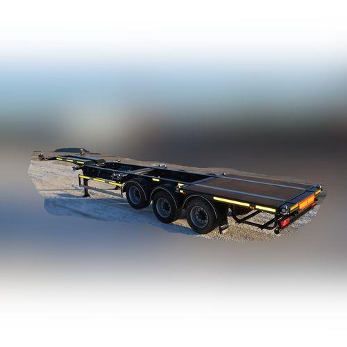 Прицеп для транспортировки контейнеров Тонар