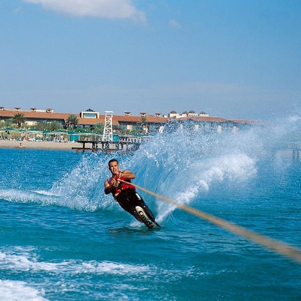 Водные лыжи. Gloria Golf (Белек)