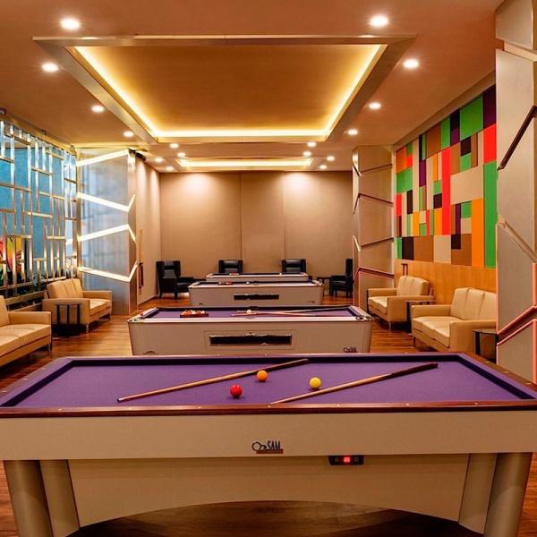 Бильярд. Regnum Carya Golf Resort & Spa (Белек)