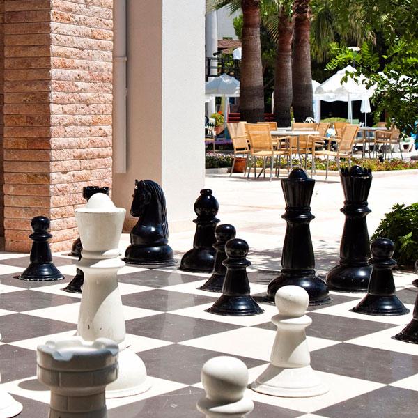 Гигантские шахматы. Cornelia Deluxe (Белек)
