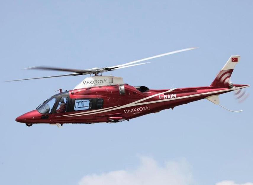 трансфер на вертолете