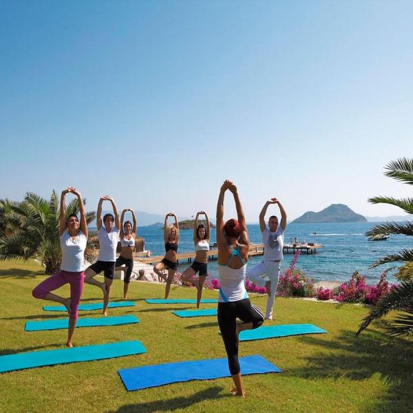 Пилатес. Sianji Wellbeing Resort (Бодрум)