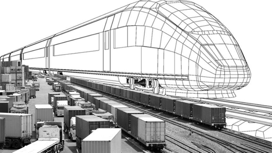 Мероприятие, посвященное запуску скоростного контейнерного поезда Китай - Новосибирск