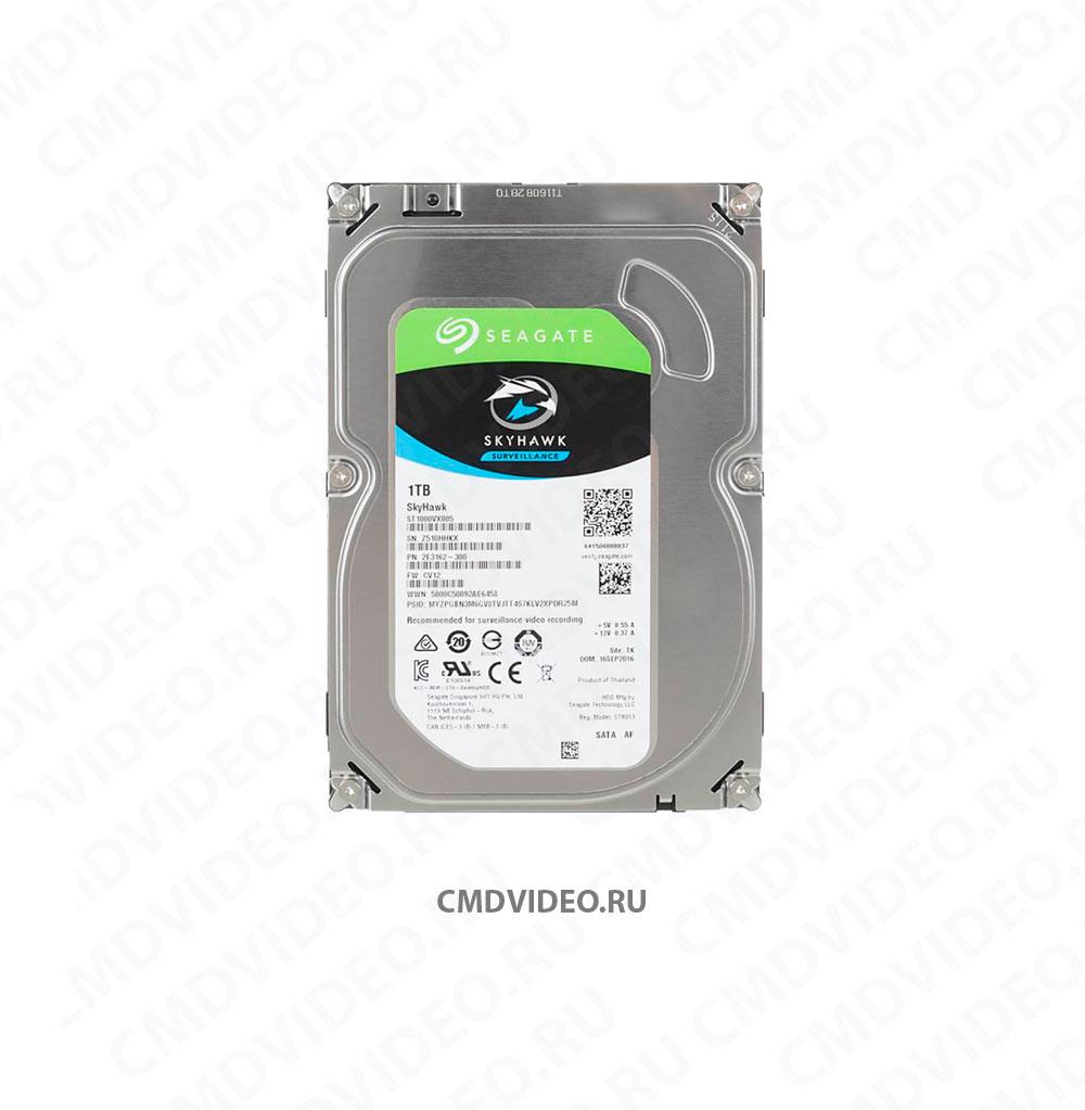 "картинка Жесткий диск SEAGATE Skyhawk ST1000VX005, 1Тб, HDD, SATA III, 3.5"" CMDVIDEO.RU | Челябинск"