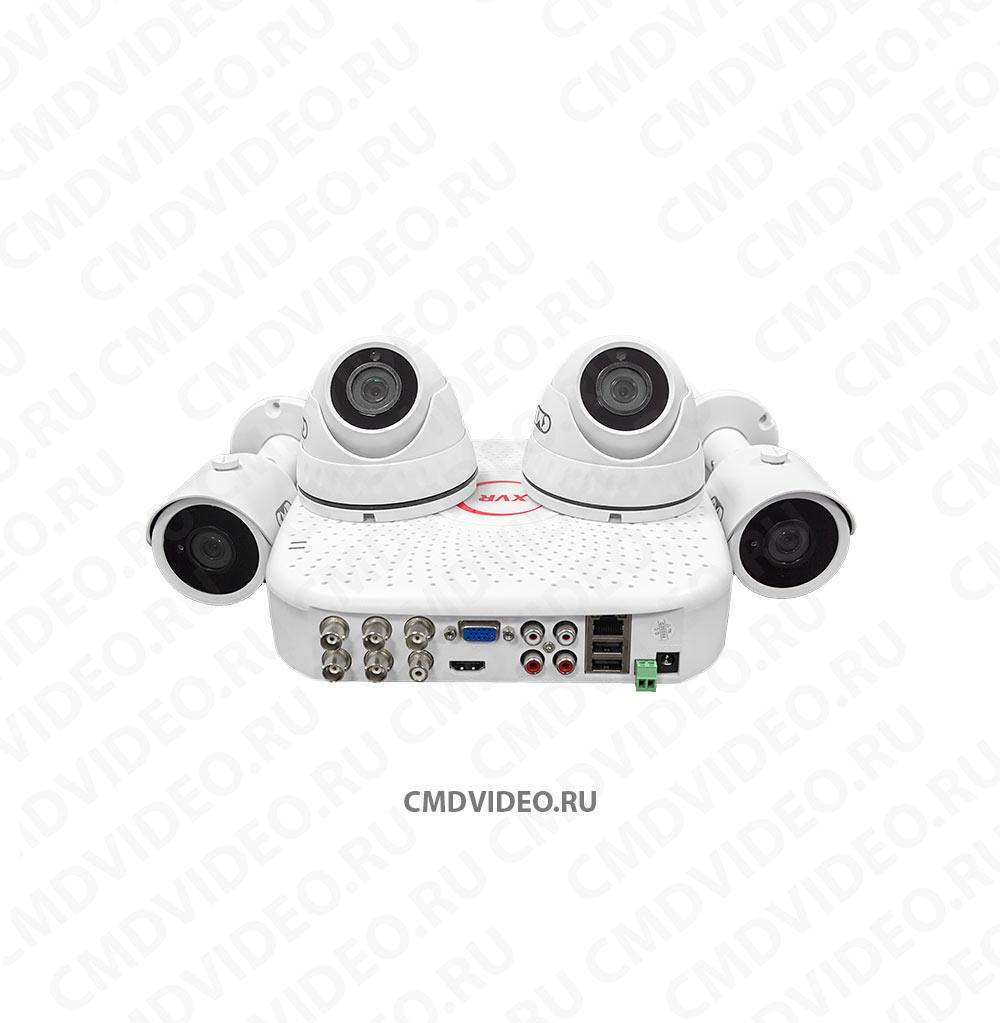 картинка CMD-HD-4-KIT AHD Комплект видеонаблюдения на 4 камеры