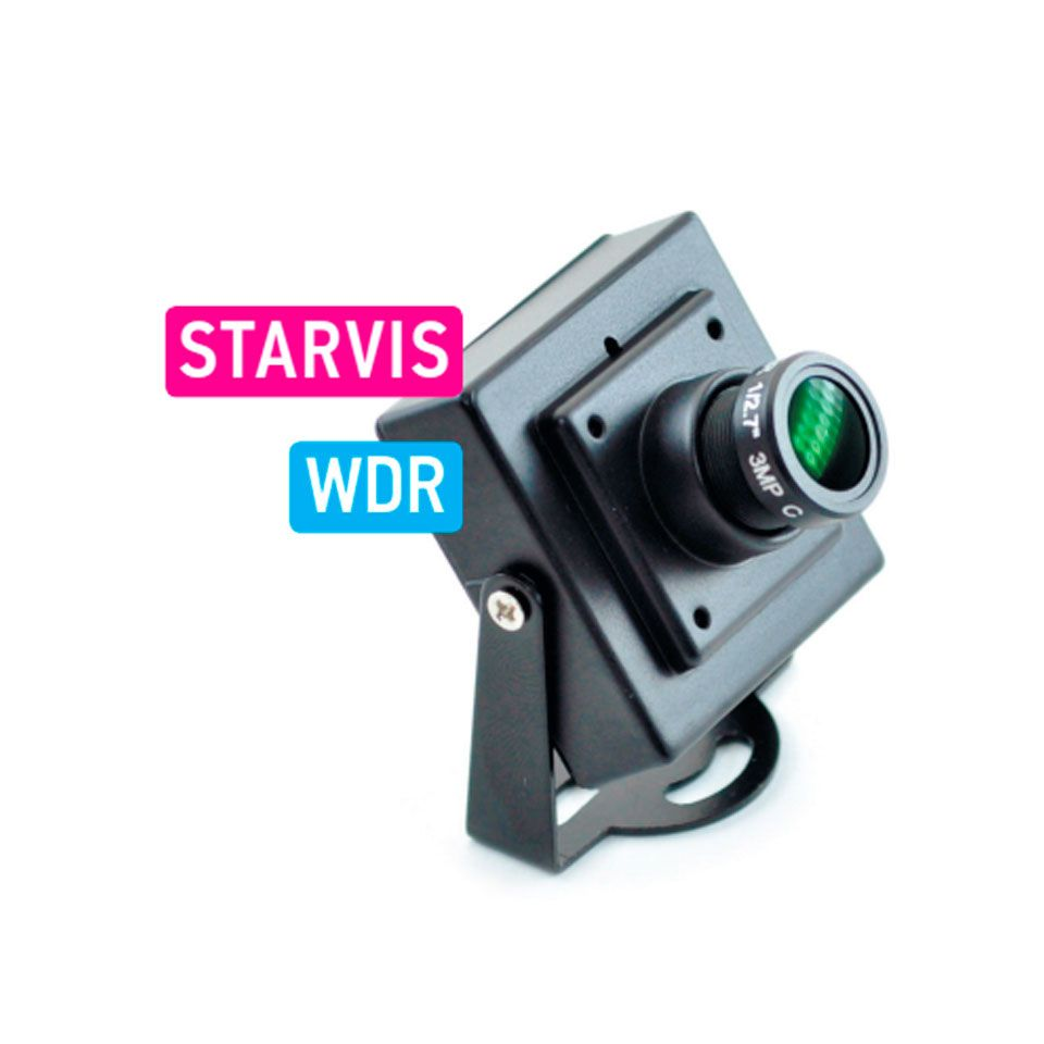 Компактная автомобильная камера с матрицей starvis