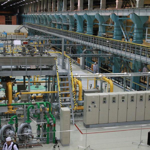 Система промышленного электрообогрева трубопроводов.