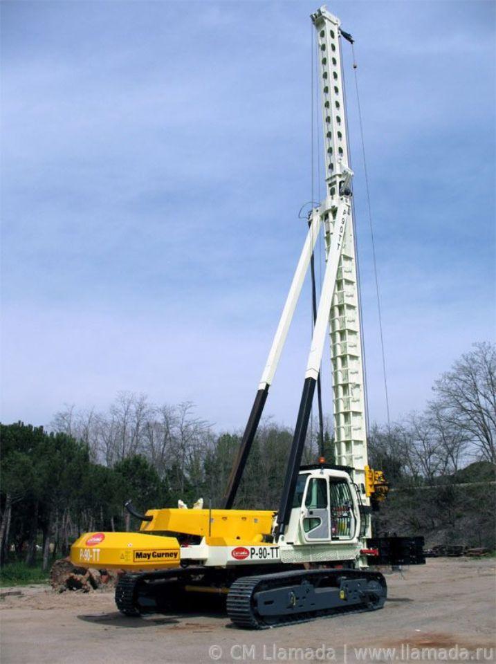 Буровая установка CFA LLAMADAP-90TT