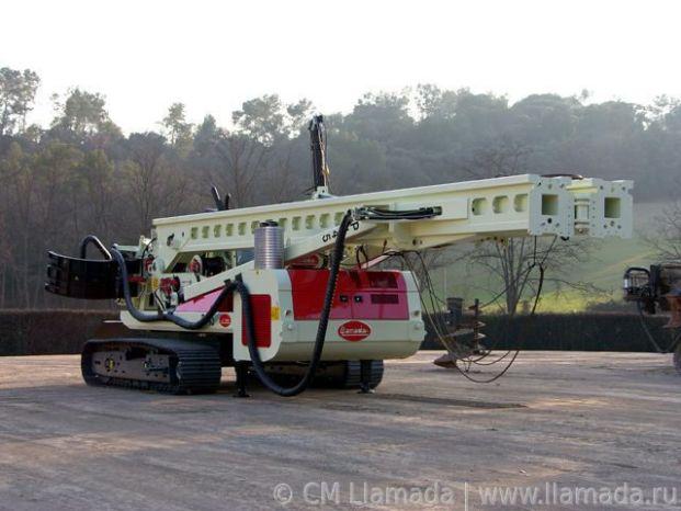 Перевозка буровой установки llamada p-135ev