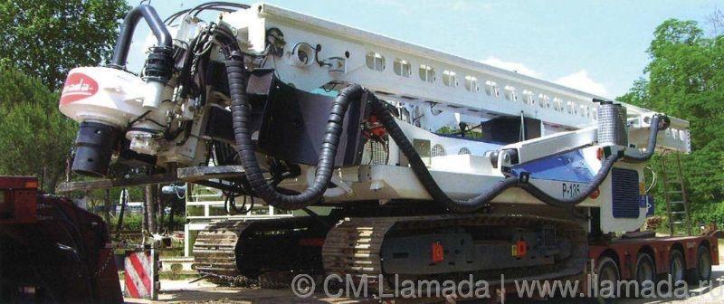 Перевозка буровой установки llamada p-135