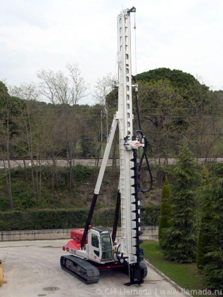 Установка CFA LLAMADA PK-85 в рабочем состоянии