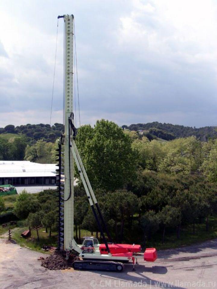 Установка CFA LLAMADA P-240 в рабочем состоянии