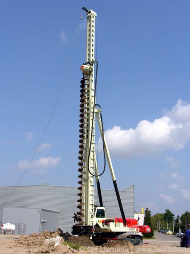 Установка CFA LLAMADA P-105 в рабочем состоянии