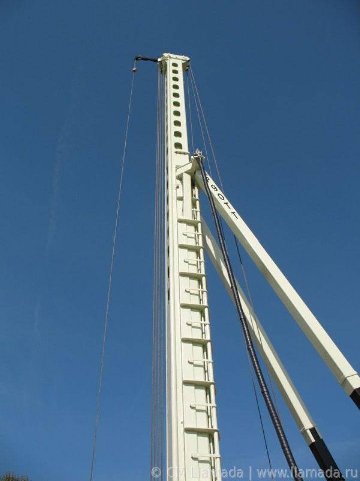 Телескопическая мачта буровой установки cfa Llamada