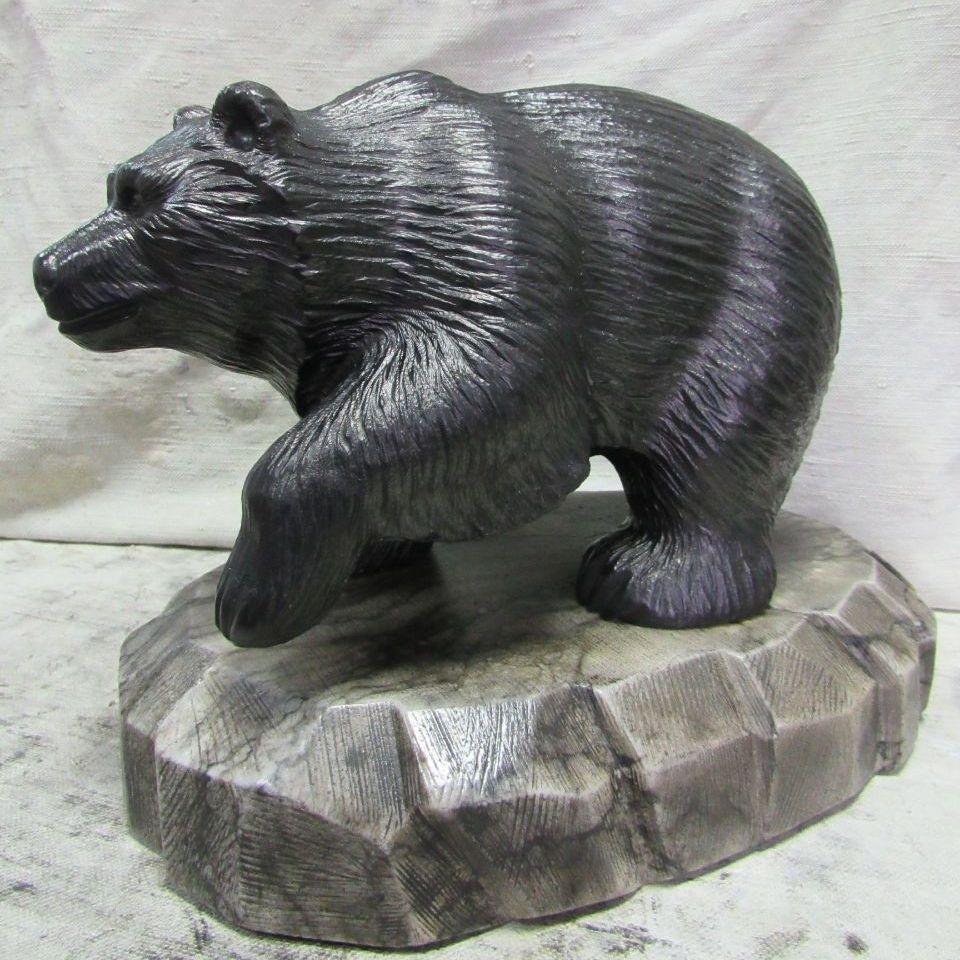 Медведь Российский средний камень кальцит