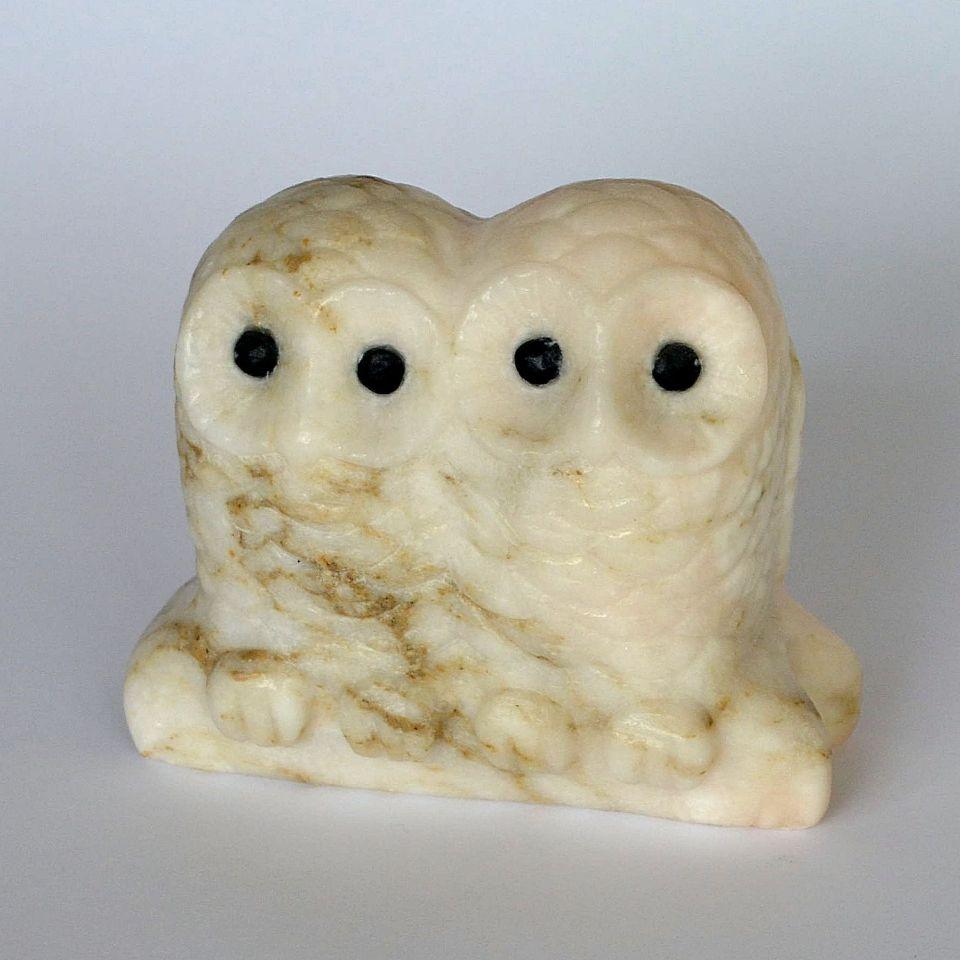 Совы Пара камень ангидрит