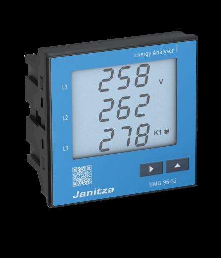 Анализатор электроэнергии Janitza UMG96S2