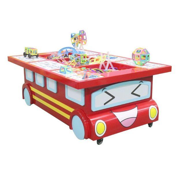 Игровой стол: Магнитный конструктор