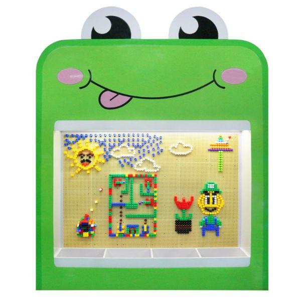 Стенка-мозаика: Лягушка