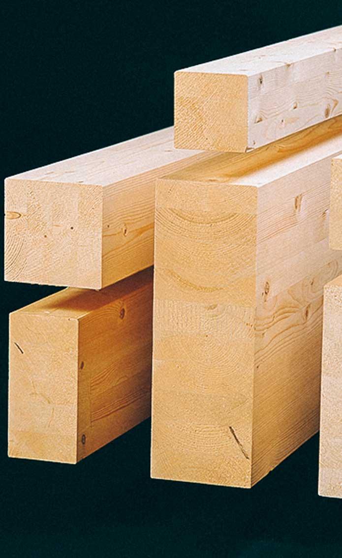 Клееные конструкционные гладкостроганные балки
