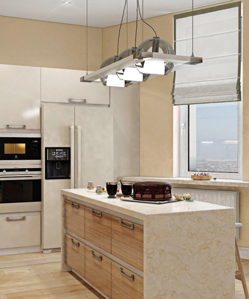 Дизайн-проект квартиры 116 м2 ЖК Столица